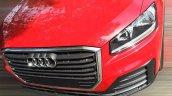 Audi Q2 front fascia spy shot China