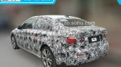 BMW 1 Series sedan rear quarter spied