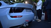 BMW 2002 Hommage rear diffuser In Images