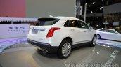 Cadillac XT5 rear three quarters right side at Auto China 2016