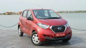 Datsun redi-GO front quarter Review