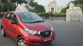 Datsun redi-GO front quarter toe in Review