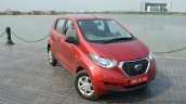 Datsun redi-GO front quarter top view Review