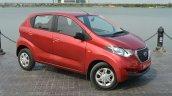 Datsun redi-GO front three quarter Review