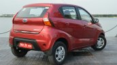 Datsun redi-GO rear quarter Review