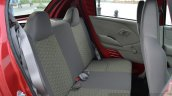 Datsun redi-GO rear seat Review