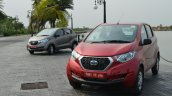 Datsun redi-GO red and gray Review