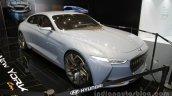 Genesis New York Concept front three quarters at Auto China 2016