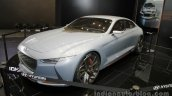 Genesis New York Concept front three quarters left side at Auto China 2016