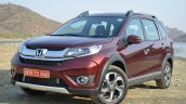 Honda BR-V front three quarters VX Diesel Review