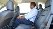 Honda BR-V rear legroom VX Diesel Review