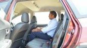 Honda BR-V rear seat egroom VX Diesel Review