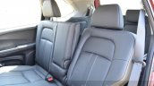 Honda BR-V rear seats VX Diesel Review