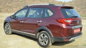 Honda BR-V rear three quarter VX Diesel Review