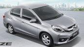 Honda Brio Amaze facelift front quarter