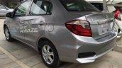 Honda Brio Amaze facelift rear quarter Thailand live pics