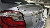 Honda Brio Amaze facelift spoiler Thailand live pics