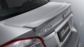 Honda Brio Amaze facelift spoiler