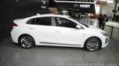 Hyundai Ioniq Hybrid right side at Auto China 2016