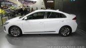 Hyundai Ioniq Hybrid side profile at Auto China 2016