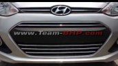 Hyundai Xcent special anniversaty edition grille spied