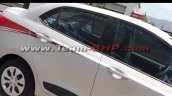 Hyundai Xcent special anniversaty edition side spied