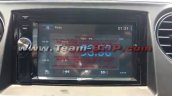 Hyundai Xcent special anniversaty edition touchscreen system spied