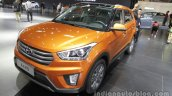 Hyundai ix25 front three quarters left side at Auto China 2016