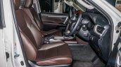 India-bound 2016 Toyota Fortuner front cabin launched in Malaysia