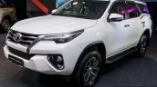 India-bound 2016 Toyota Fortuner front three quarter launched in Malaysia