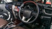India-bound 2016 Toyota Fortuner interior launched in Malaysia