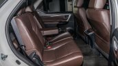 India-bound 2016 Toyota Fortuner rear seat launched in Malaysia