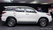 India-bound 2016 Toyota Fortuner side launched in Malaysia