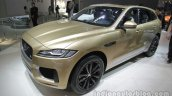 Jaguar F-Pace front three quarter at Auto China 2016