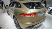 Jaguar F-Pace rear three quarter at Auto China 2016