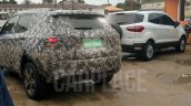 Jeep 551 (Jeep C-SUV) spied up-close, alongside Ford EcoSport