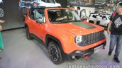 Jeep Renegade Trailhawk front three quarters at Auto China 2016