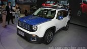 Jeep Renegade Warcraft edition front three quarters at Auto China 2016