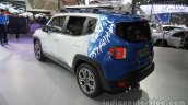 Jeep Renegade Warcraft edition rear three quarters at Auto China 2016