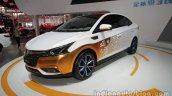 Luxgen S3 EV at Auto China 2016 front three quarters