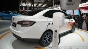 Luxgen S3 EV at Auto China 2016 rear three quarters