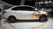 Luxgen S3 EV at Auto China 2016 side profile