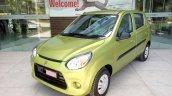 Maruti Alto 800 facelift Mojito Green spied