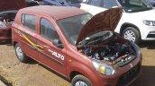 Maruti Alto 800 facelift dealer car spied