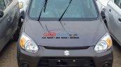 Maruti Alto 800 facelift front end spied