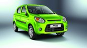 Maruti Alto 800 facelift  front quarter press shots