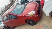 Maruti Alto 800 facelift front quarter spied
