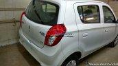 Maruti Alto 800 facelift rear spied