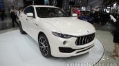 Maserati Levante front three quarters at Auto China 2016