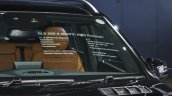 Mercedes GLS at BIMS 2016 specifications